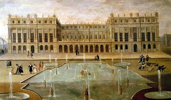 palacio de versalles...