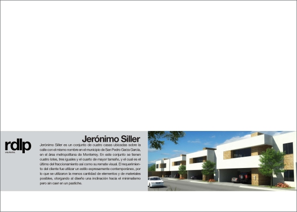 RESEARCH ARQ. JOSÉ JUAN GARZA CAVAZOS_Jerónimo Siller