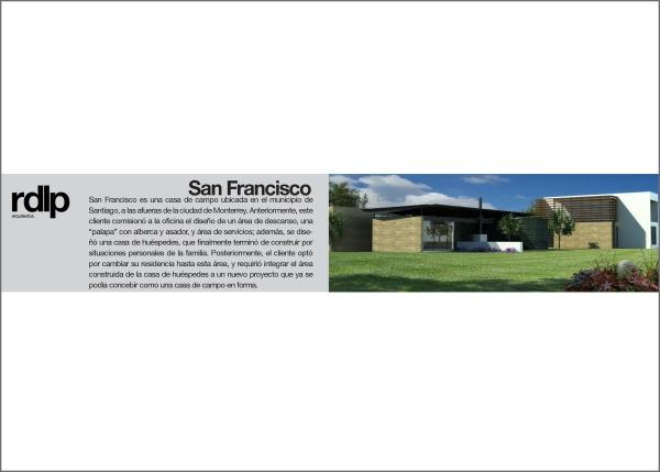RESEARCH ARQ. JOSÉ JUAN GARZA CAVAZOS_San Francisco